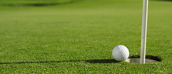 photo of golf ball
