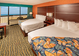 Breakers resort room inset